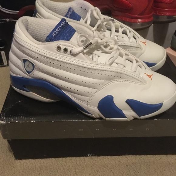 7fa4d2ab7ea Jordan Shoes | Nike Air 14 Low Pacific Blue | Poshmark